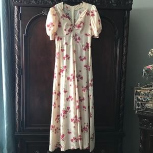 Dresses & Skirts - Vintage Midi Floral Dress